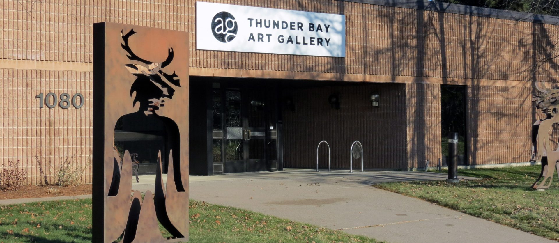 exterior view of thunder bay art gallery