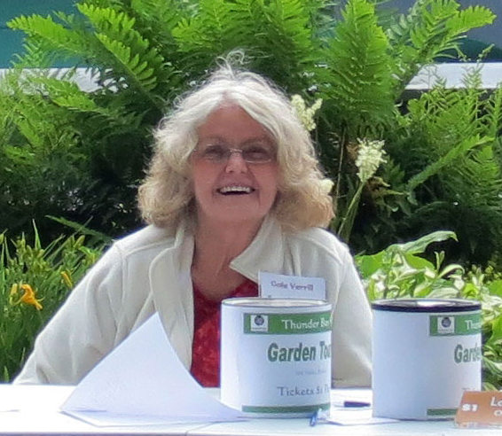 Garden tour volunteer