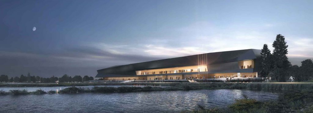 Rendering of New Waterfront Gallery