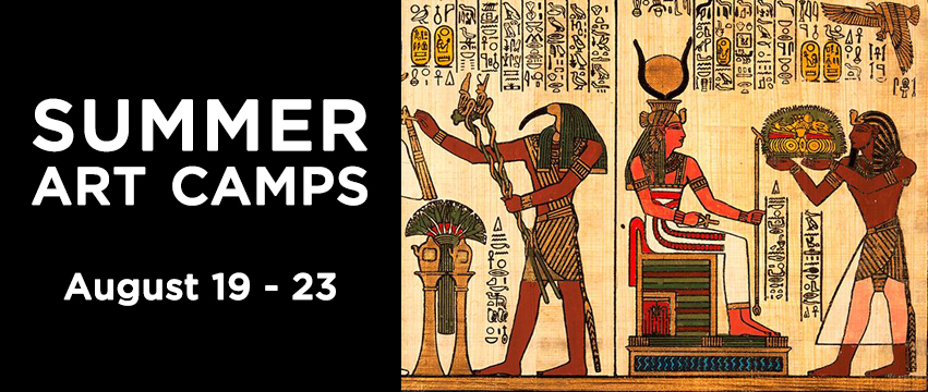Summer Art Camp Ancient ART ifacts