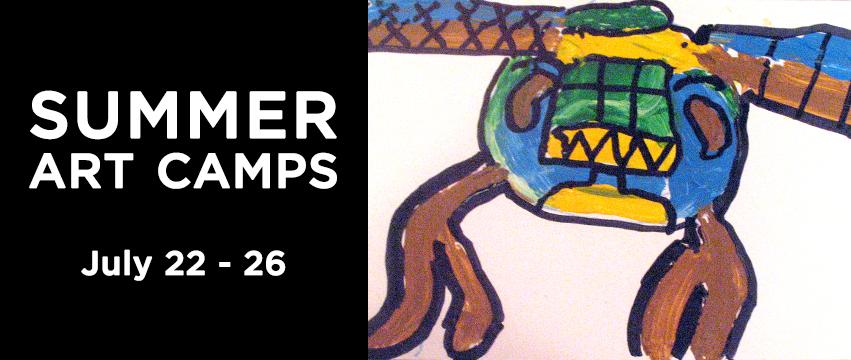 Creature feature Summer Art Camp