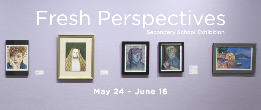 Fresh Perspectives secondary school art exhibition