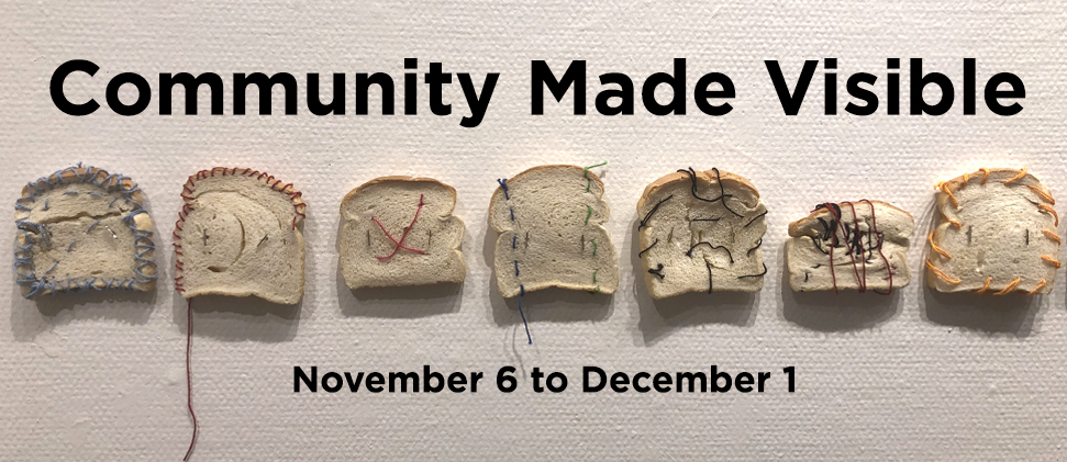Community Made Visible exhibition banner image