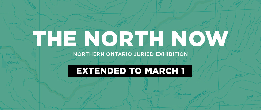 The North Now exhibition banner image