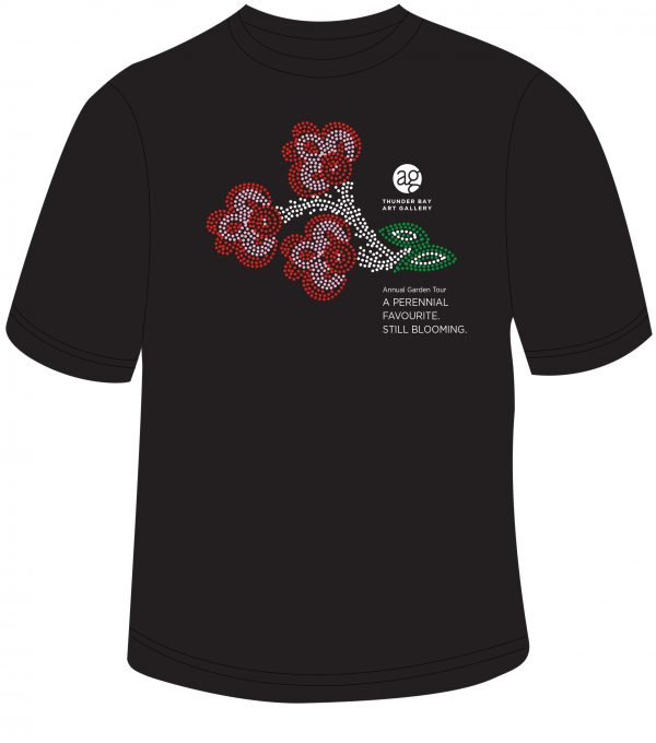 Black Garden Tour T Shirt Image