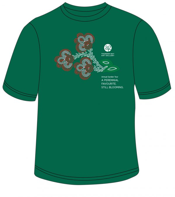 Green Garden Tour T Shirt Image