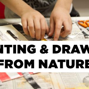 Painting & Drawing from Nature Summer Art Camp Banner Image