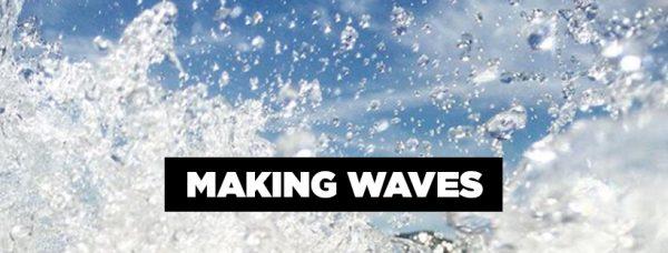 Making Waves Summer Art Camp Banner Image