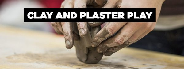 Clay and Plaster Play Summer Art Camp Banner Image