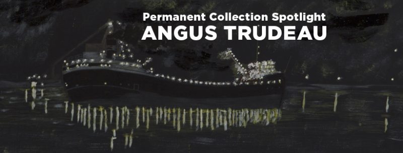 Angus Trudeau exhibition banner image