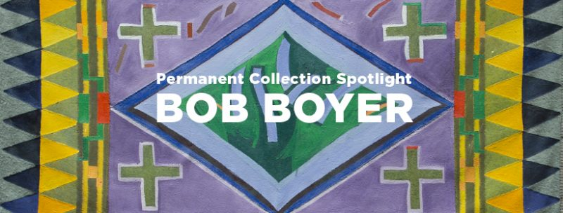 Bob Boyer exhibition banner image