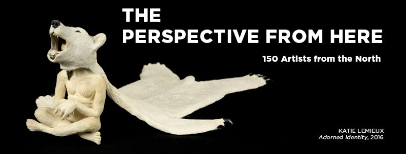 The Perspective From Here: 150 Artists from the North exhibition banner image