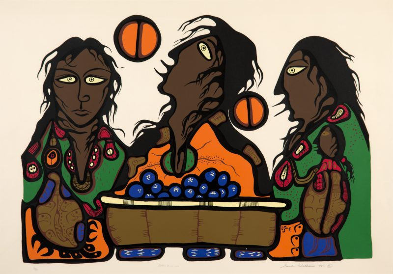 Saul Williams Berry Picking, 1975 serigraph on paper 74.9 x 88.9 cm Gift of Mr. N.C. Opperman, 1985
